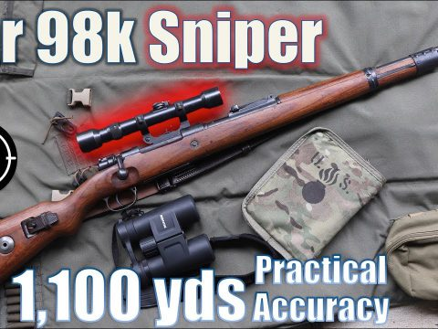 ?Kar98k Sniper to 1,100yds: Practical Accuracy (Milsurp)