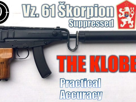 Vz61 Skorpion (Semi Auto CSA/Czech Point) – Close Range Practical Accuracy (Milsurp)