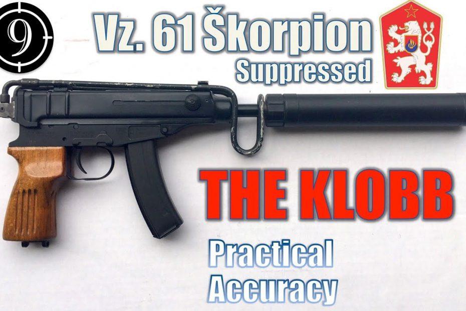 Vz61 Skorpion (Semi Auto CSA/Czech Point) – Close Range Practical Accuracy (Milsurp)