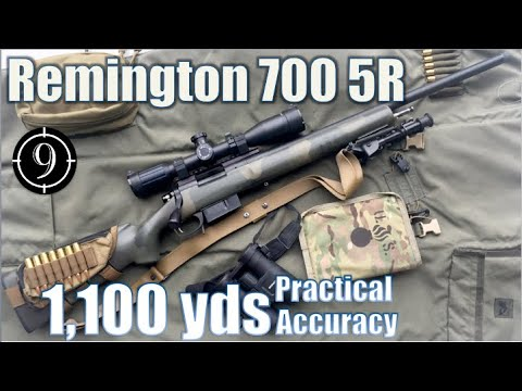 ?R700 5R to 1,100yds/ .308Win: Practical Accuracy (Remington M40 M24 sniper base + SWFA 10×42)