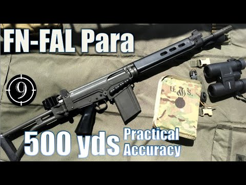 FN FAL Para to 500yds: Practical Accuracy (Iron Sights, South African) (Milsurp)