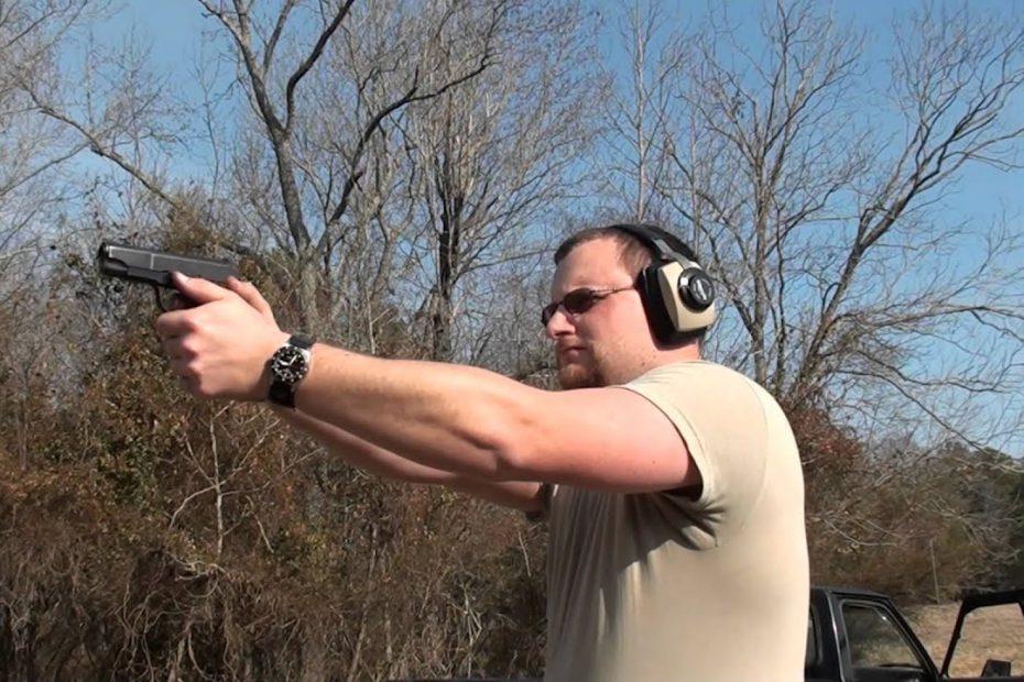 Star Model PD .45 ACP alloy frame Pistol