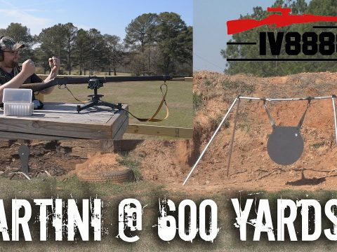 Martini Henry Sniper Rifle? Long Range 600 Yard Test