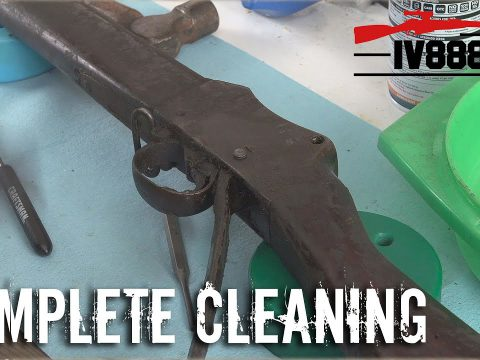 Untouched Martini-Henry Complete Clean Up