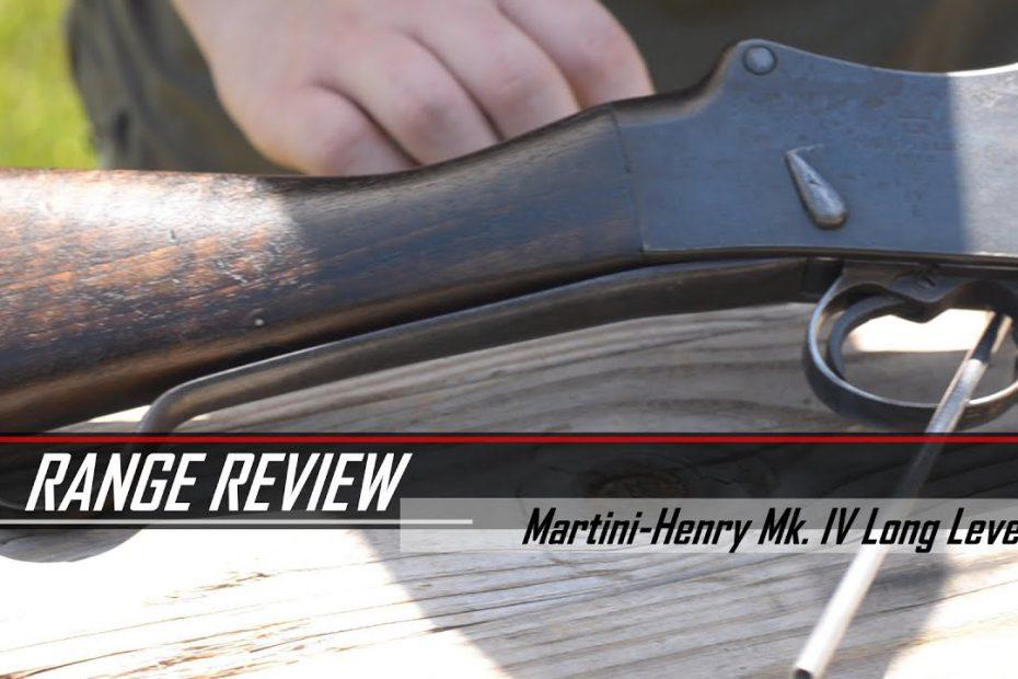 Martini-Henry Mk IV Long Lever