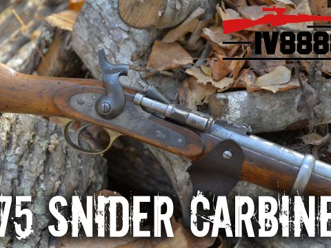 1875 Snider Carbine Portuguese Contract