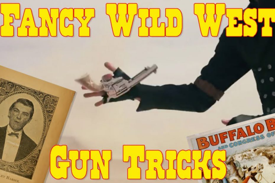 Fancy Gun Handling in the Old West