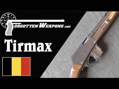 Tirmax: A Pre-WW1 .32ACP Light Carbine