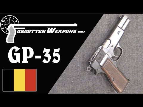 Belgian GP35: The First Military Browning High Power