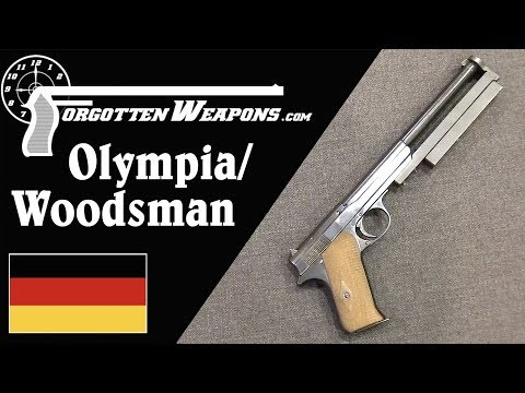 Walther Experimental Hybrid Olympia/Woodsman