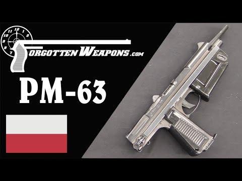 PM63 Rak: An Interesting Polish SMG/PDW Hybrid