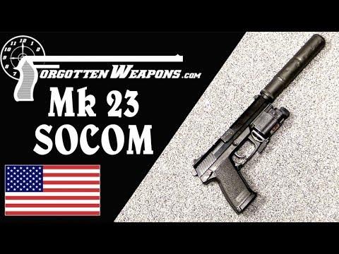 H&K Mk23 SOCOM .45 Development