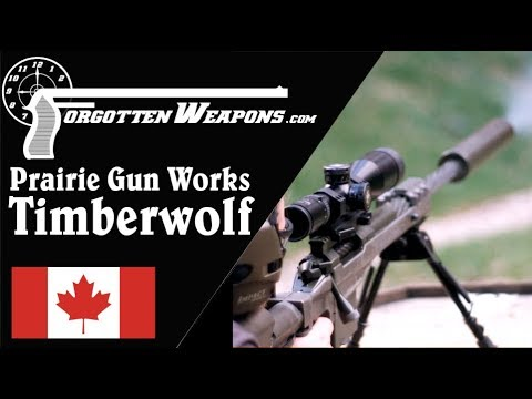 Prairie Gun Works Timberwolf: British Trials Sniper Rifle