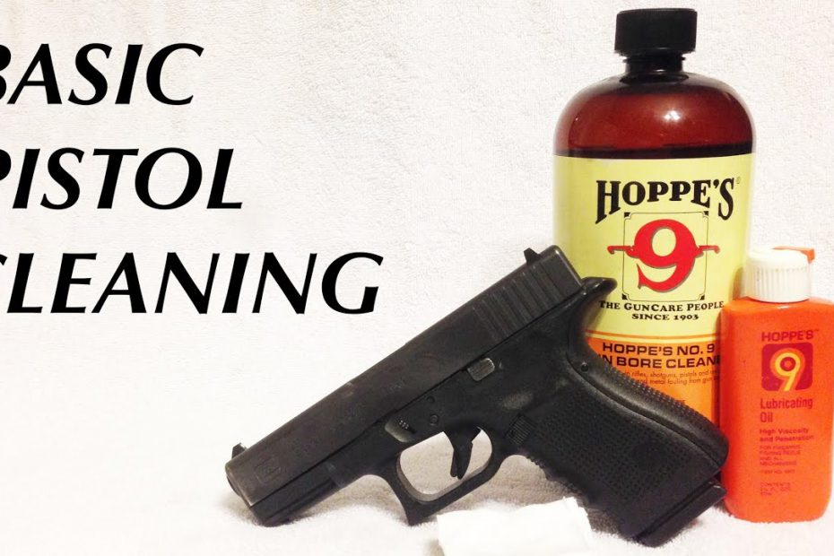 Basic Semi-Auto Pistol Cleaning