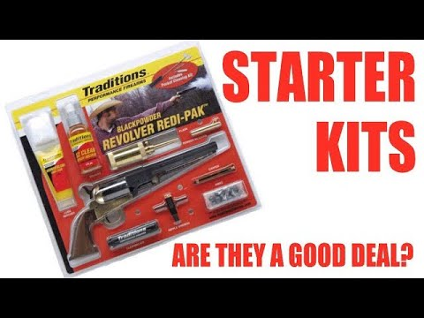 Black Powder Starter Kits