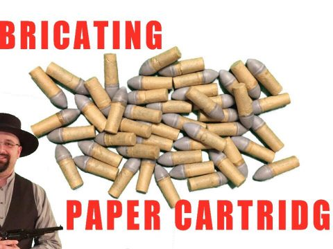 How To Make Paper Cartridges, Part 2: Lubricating
