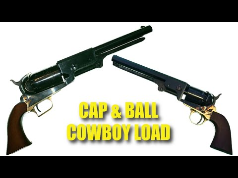 The Cowboy Load Part 2: Cap & Ball Revolvers