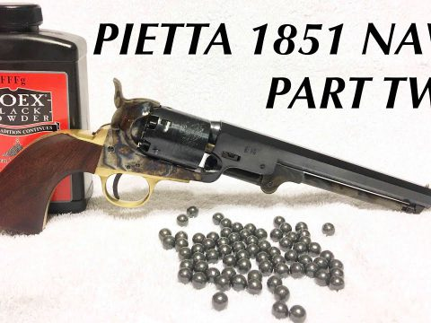 Pietta 1851 Navy Part Two: More Shooting and Proper Disassembly
