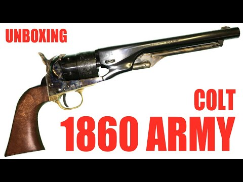 Colt 1860 Army: Unboxing