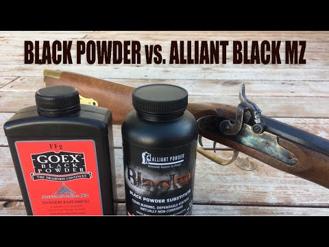 Black Powder vs. Alliant Black MZ