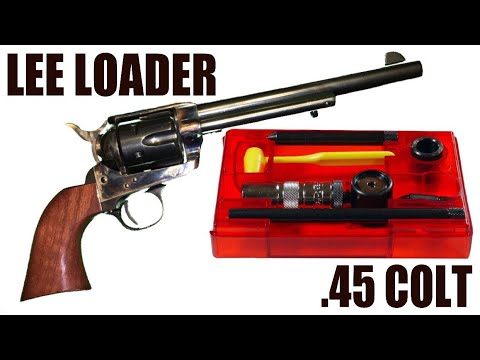 Lee Loader Review (.45 Colt)