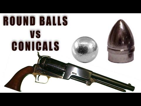Round Balls vs. Conicals
