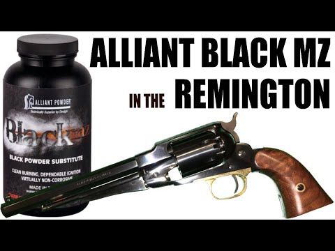 Alliant Black MZ in the Remington New Model Army