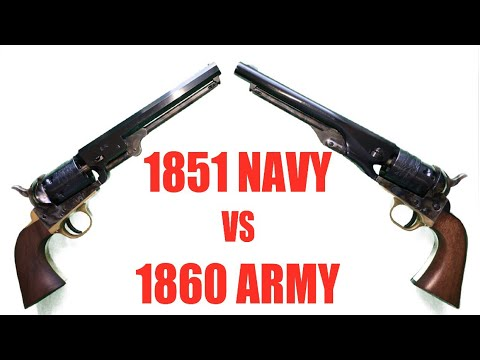 1851 Navy vs. 1860 Army: What's The Difference?