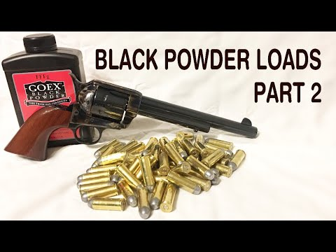 How To Make .45 Colt Black Powder Cartridges… Part 2 (A Simpler Method And Some Clarification)