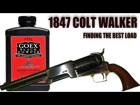 1847 Colt Walker: Finding The Best Load