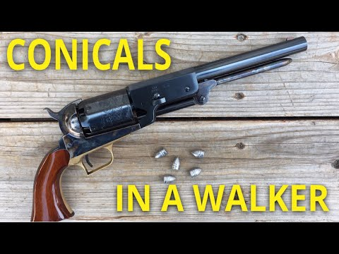 Johnston & Dow Conicals In A Colt Walker