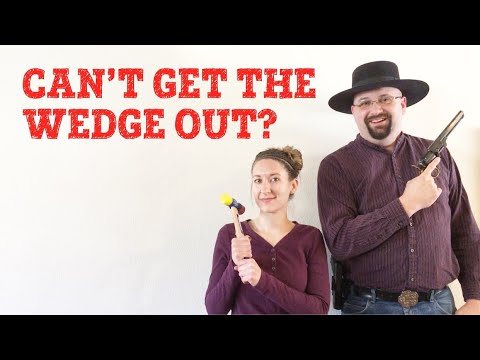 How To Remove The Wedge From A Colt Cap & Ball Revolver