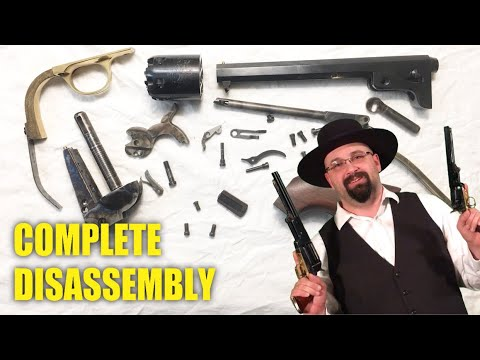 How To Disassemble Colt Cap and Ball Revolvers