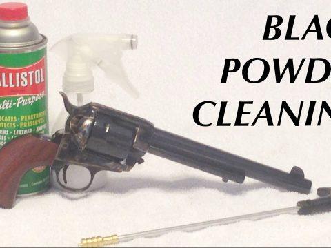 Black Powder Cleaning