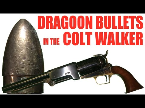 Dragoon Bullets In The Colt Walker
