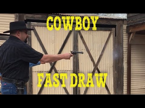 Cowboy Fast Draw (My First Time)