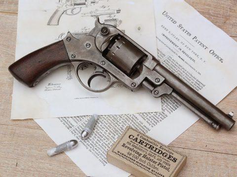 Shooting the civil war 1858 Starr DA revolver – teaser