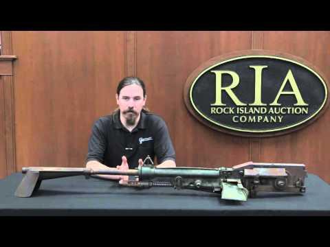 Spoils of War: A Machine Gun Full of Bullet Holes