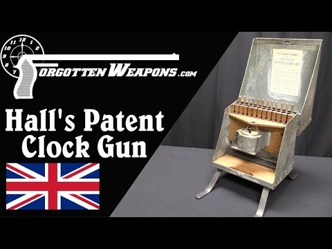 Hall's Patent Clock Gun: A Shot Every Hour, On The Hour