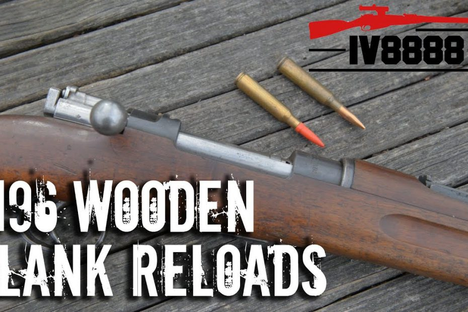 Swedish M96 with Wooden Bullet Handloads