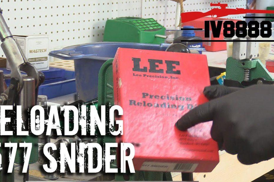 Reloading .577 Snider