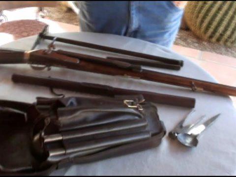 Girardoni Air Gun (original 1780 example)