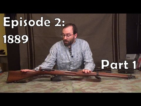 Swiss Straight-Pulls Episode 2: 1889 rifle