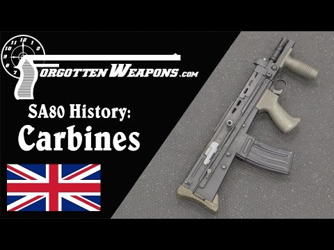 SA80 History: L22A2 and Experimental L85 Carbines