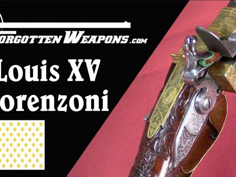 King Louis XV's Magnificent Engraved Lorenzoni Rifle