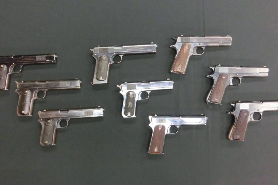 Development of the Model 1911 Pistol