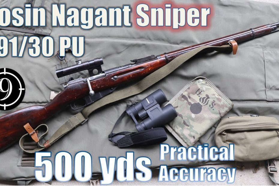 Mosin Nagant M91/30 PU Sniper to 500yds: Practical Accuracy (Milsurp)