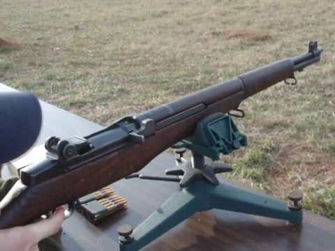 M1 Garand 100 yard groups with Greek 150 Gr. Ball