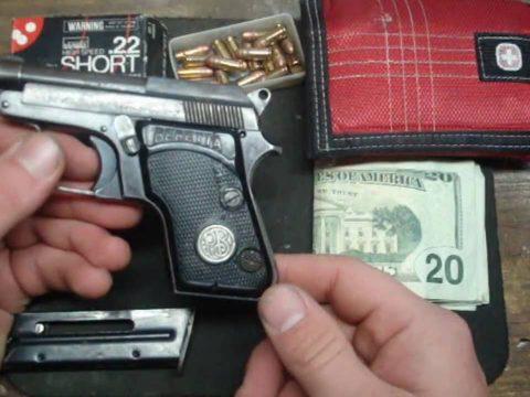 Beretta 950B Minx in .22 Short Auto Pocket Pistol