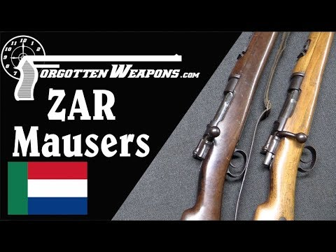Dutch Farmers Against the Empire: ZAR Mausers of the Boer War